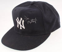 Don Mattingly Signed Yankees New Era Fitted Baseball Hat (JSA COA) at PristineAuction.com