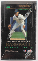 1992 Score Pinnacle MLB Player Cards Series 1 Box at PristineAuction.com