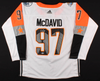 Connor McDavid Signed Oilers Captain Jersey (Beckett COA) at PristineAuction.com