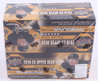 2019-20 Upper Deck Series 1 Hockey Box of (24) Packs at PristineAuction.com
