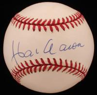Hank Aaron Signed ONL Baseball (PSA COA) at PristineAuction.com