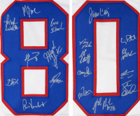 """""""Miracle On Ice"""" Jersey Team-Signed by (18) with Jim Craig, Mike Eruzione, Ken Morrow, Dave Silk (Schwartz Sports COA) at PristineAuction.com"""