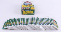 1990 Fleer Football Wax Box with (36) Packs at PristineAuction.com