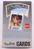 2000 Collegiate Collection North Carolina Tar Heels First Edition Set of (36) Basketball Card Packs with Michael Jordan at PristineAuction.com