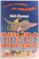 """1972 """"Dumbo"""" 28x41 Theater Poster at PristineAuction.com"""