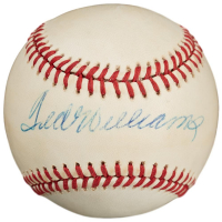 Ted Williams Signed Baseball (Beckett LOA) at PristineAuction.com