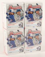 Lot of (4) 2020 Bowman Baseball Blaster Boxes of (6) Packs Each at PristineAuction.com
