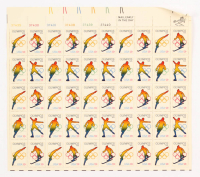 Uncut Set of (50) 1976 Olympics Stamp Sheet at PristineAuction.com