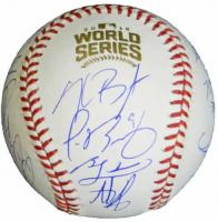 2016 World Series Baseball Signed by (22) with Anthony Rizzo, Kris Bryant, Javier Baez, Kyle Hendricks, Aroldis Chapman (Fanatics Hologram & MLB Hologram) at PristineAuction.com
