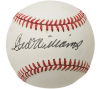 Ted Williams Signed OAL Baseball (Beckett LOA) at PristineAuction.com