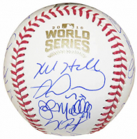 2016 Cubs World Series Series Baseball Team-Signed by (24) with Kris Bryant, Anthony Rizzo, Ben Zobrist, Theo Epstein (Schwartz COA) at PristineAuction.com