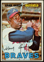 Hank Aaron 1967 Topps #250 (Trimmed) at PristineAuction.com