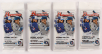 Lot of (4) 2020 Bowman Baseball Fat Packs of (19) Cards Each at PristineAuction.com