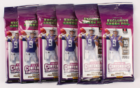 Lot of (6) 2020 Panini Contenders Draft Picks Football Card Hobby Packs with (18) Cards Each at PristineAuction.com
