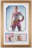 "Taylor Swift Signed 16x24 Custom Framed ""Lover"" Album Photo Display (JSA COA) at PristineAuction.com"