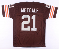 Eric Metcalf Signed Jersey (JSA COA) at PristineAuction.com