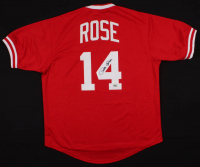 Pete Rose Signed Jersey (JSA COA & Fiterman Hologram) at PristineAuction.com