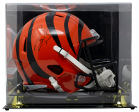 Joe Burrow Signed Bengals Full-Size Speed Helmet with Display Case (Fanatics Hologram) at PristineAuction.com