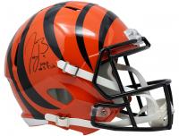 "Joe Burrow Signed Bengals Full-Size Speed Helmet Inscribed ""2020 #1 Pick"" (Fanatics Hologram) at PristineAuction.com"