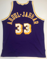 Kareem Abdul-Jabbar Signed LE Lakers Jersey (UDA COA) at PristineAuction.com