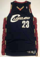 "LeBron James Signed Cavaliers Game-Issued Jersey Inscribed ""Game-Issued"" (UDA COA) at PristineAuction.com"
