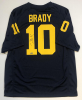 Tom Brady Signed Michigan Wolverines Jersey (TriStar Hologram) at PristineAuction.com