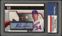 Nolan Ryan 2004 Ultimate Collection Game Patch Signature #NR (Fanatics Encapsulated) at PristineAuction.com