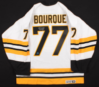 Ray Bourque Signed Bruins Captain Jersey (AJ's Sports World COA) at PristineAuction.com