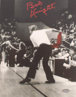 Bobby Knight Signed Indiana Hoosiers 8x10 Photo (Schwartz COA) at PristineAuction.com