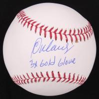 """Rey Ordonez Signed OML Baseball Inscribed """"3x Gold Glove"""" (TriStar Hologram) at PristineAuction.com"""