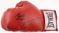 Roberto Duran & Sugar Ray Leonard Signed Everlast Boxing Glove (Beckett COA) at PristineAuction.com