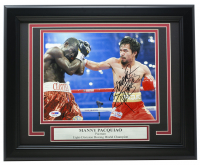 "Manny ""Pacman"" Pacquiao Signed 11x14 Custom Framed Photo Display (PSA COA) at PristineAuction.com"