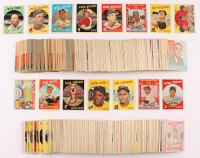 Complete Set of (572) 1959 Topps Baseball Cards With Mickey Mantle #461, Roberto Clemente #478, Willie Mays #50, Frank Robinson #435 RC at PristineAuction.com