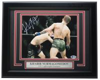 Khabib Nurmagomedov Signed 11x14 Custom Framed Photo Display (PSA COA) at PristineAuction.com