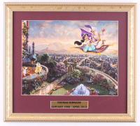 "Thomas Kinkade ""Aladdin"" 14.5x16 Custom Framed Print Display at PristineAuction.com"