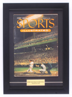 Original 1954 First Issue Sports Illustrated Magazine 13x17 Custom Framed Magazine Display at PristineAuction.com