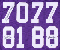 """Purple People Eaters"" Jersey Signed by (4) with Alan Page, Carl Eller, Jim Marshall & Gary Larsen (Beckett COA) at PristineAuction.com"