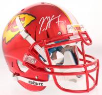 Kareem Hunt Signed Chiefs Full-Size Authentic On-Field Chrome Helmet (JSA COA) at PristineAuction.com