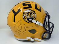 "Joe Burrow Signed LSU Tigers Full-Size Speed Helmet Inscribed ""19 Heisman"" (Fanatics Hologram) at PristineAuction.com"