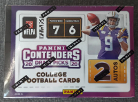 2020 Panini Contenders Draft Picks Purple Football Box at PristineAuction.com
