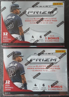 Lot of (2) 2020 Panini Prizm Baseball Trading Card Boxes at PristineAuction.com