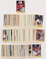 1982 Donruss Complete Set of (660) Baseball Cards with #436 Cal Ripken Jr. RC at PristineAuction.com
