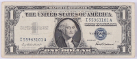 1957 U.S. $1 One Dollar Blue Seal Silver Certificate Note at PristineAuction.com