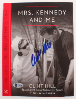 """Clint Hill Signed """"Mrs. Kennedy & Me"""" Book Cover (Beckett COA) at PristineAuction.com"""