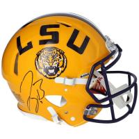 Joe Burrow Signed LSU Tigers Full-Size Authentic On-Field Speed Helmet (Fanatics Hologram) at PristineAuction.com
