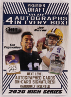 2020 Sage Hit High Series Football Blaster Box with (72) Cards at PristineAuction.com