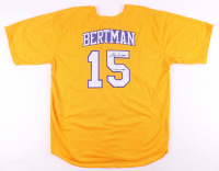 """Skip Bertman Signed Jersey Inscribed """"5x CWS Champs"""" (JSA COA) at PristineAuction.com"""