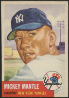Mickey Mantle 1953 Topps #82 at PristineAuction.com