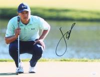 Jordan Spieth Signed 11x14 Photo (JSA COA) at PristineAuction.com