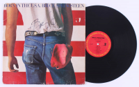 "Bruce Springsteen Signed ""Born in the U.S.A."" Vinyl Record Album Cover (AutographCOA LOA) at PristineAuction.com"